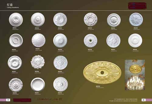 Ceiling Medallions Crowndecor Wholesale Pu Polyurethane